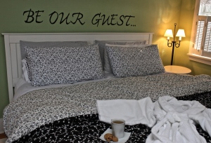 please be our guest...
